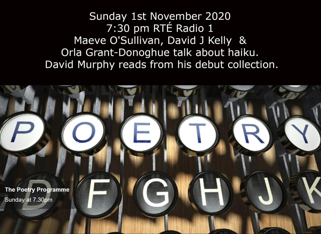 RTÉ Radio 1 Poetry Programme poster